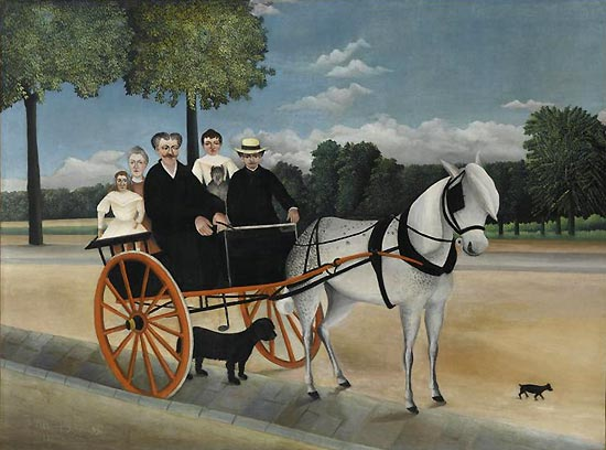 Il calesse di papà Junier, (1908) Musée de l'Orangerie di Parigi