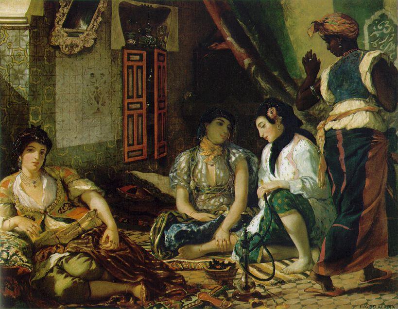 Donne di Algeri nei loro appartamenti. 1834