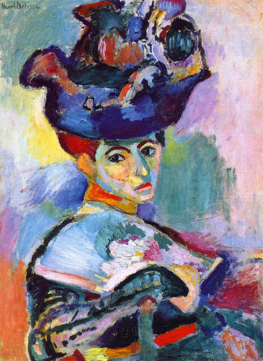 Henri Matisse, Donna con cappello, 1905