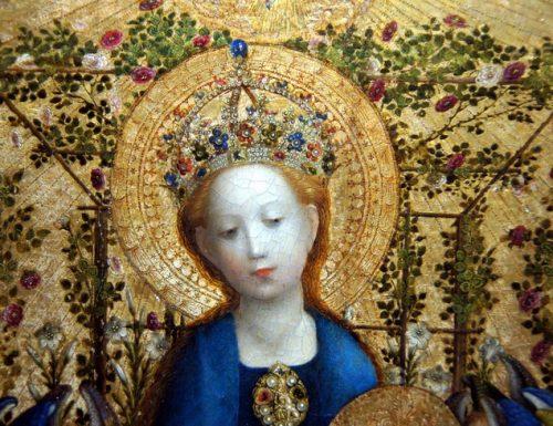 La Rosa nei dipinti: fiore sacro a Venere e attributo di Maria