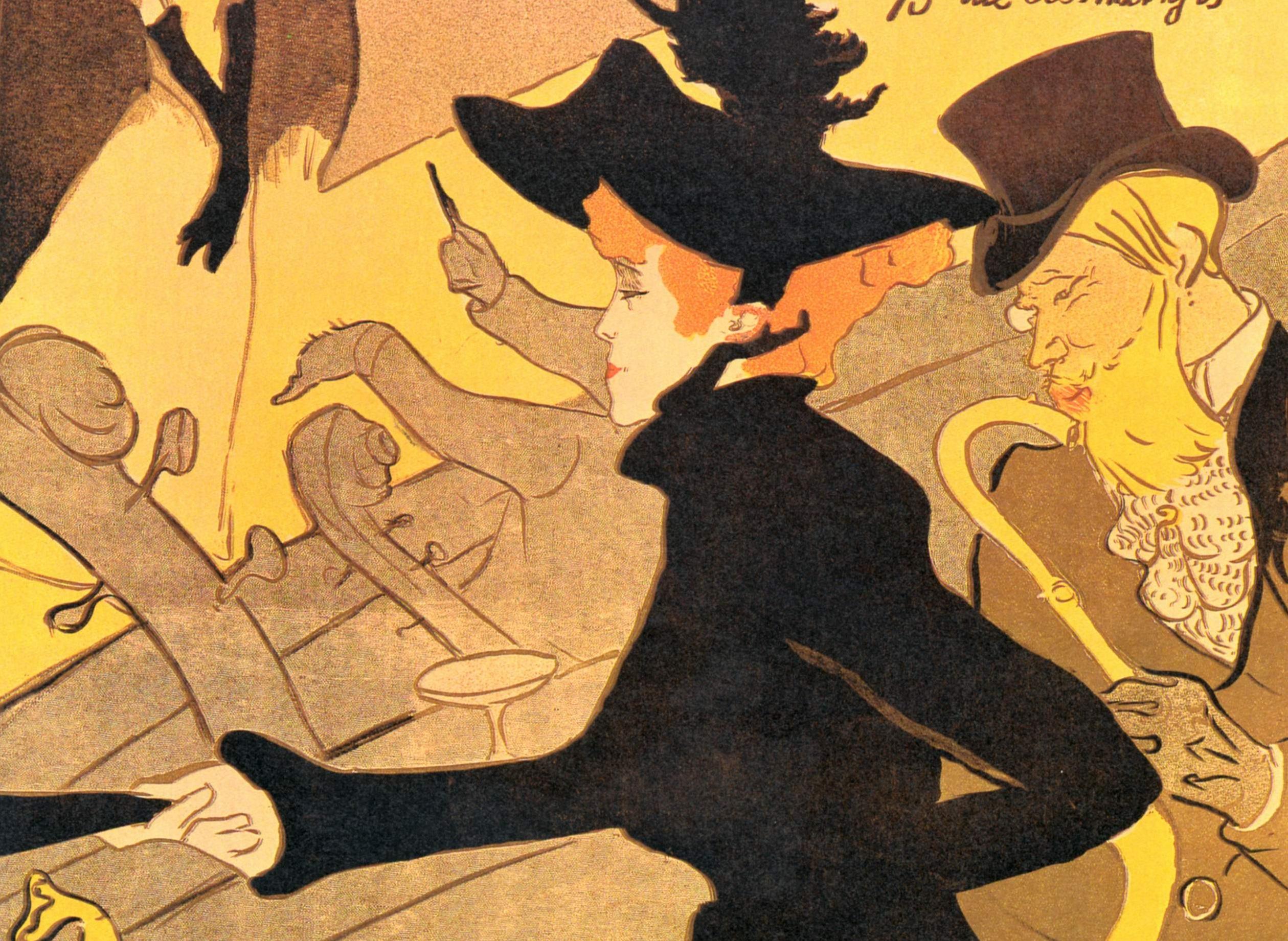 Henri de toulouse lautrec il manifesto d 39 autore restaurars for Divan japonais toulouse lautrec