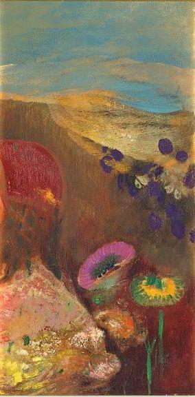 Strange Flowers - Odilon Redon