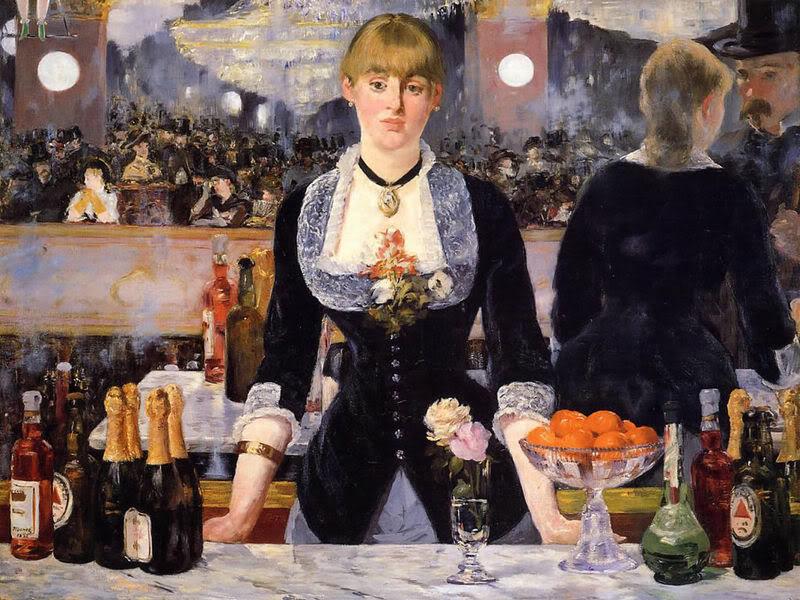 Edouard Manet, Il bar delle Folies Bergère, 1881-82