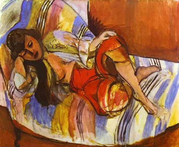 Henri Matisse, Odalisca, 1923