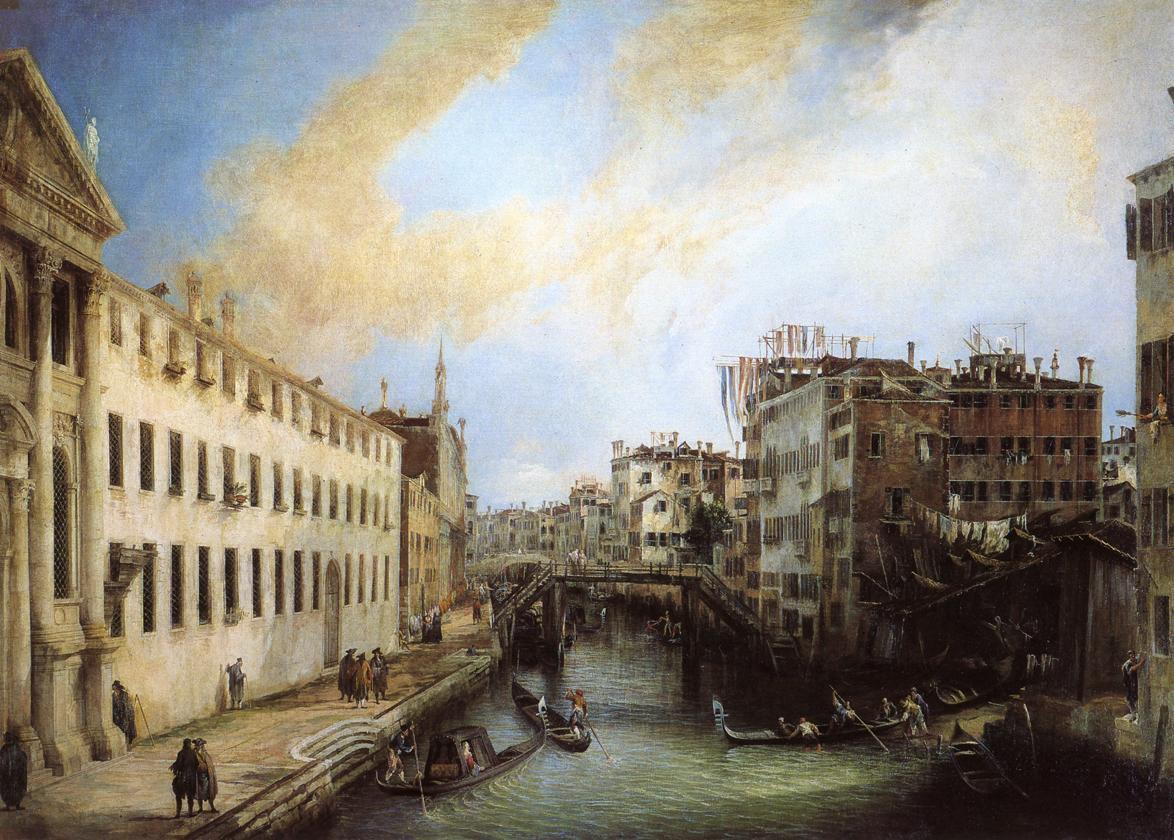 Canaletto, Rio dei Mendicanti, 1723