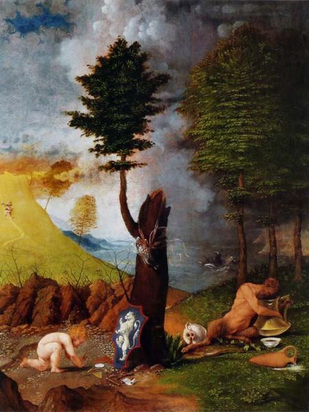 Lorenzo Lotto, Allegoria della Virtù e del Vizio, 1505