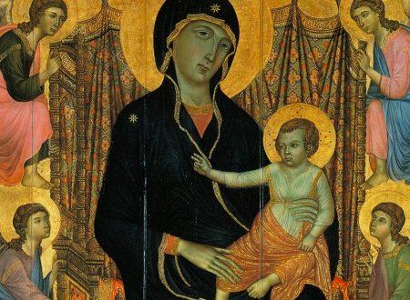 """Duccio di Buoninsegna e la """"Madonna Rucellai"""": una commissione fiorentina"""