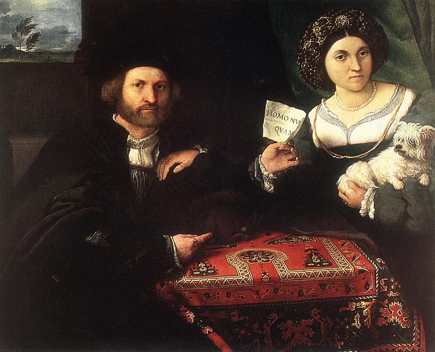 Lorenzo Lotto, Ritratto di coniugi, 1524 ca