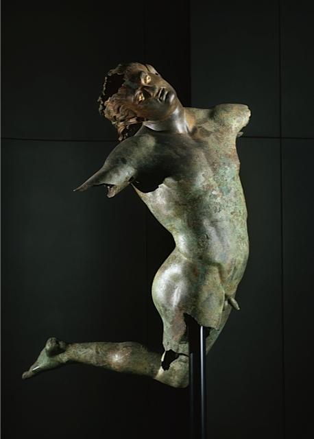 Il satiro dopo il restauro