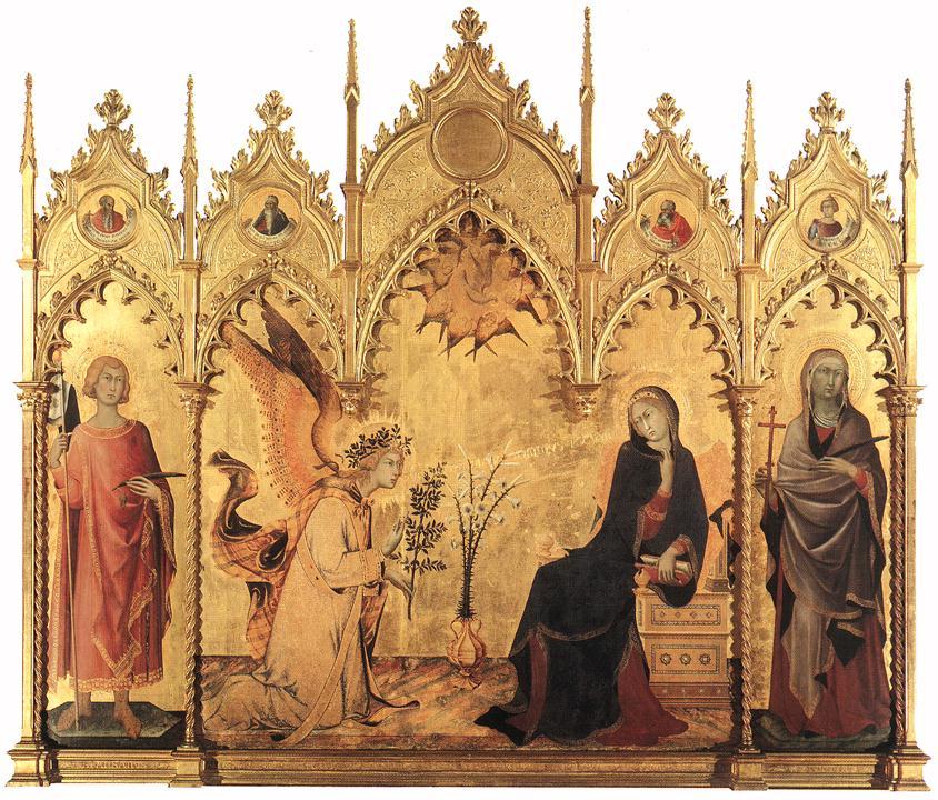 Annunciazione tra i santi Ansano e Margherita