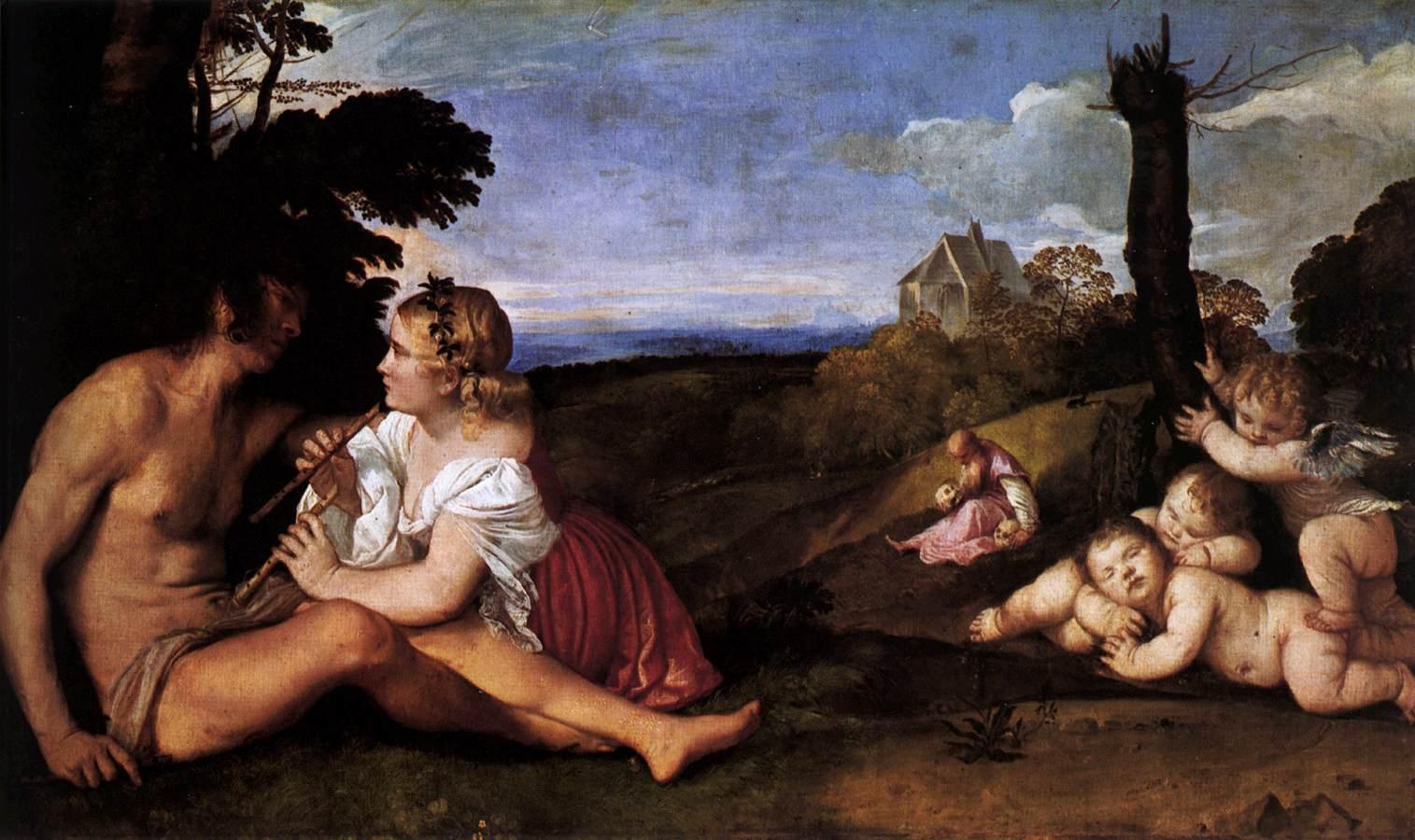 Tiziano, Le tre età dell'uomo, 1512