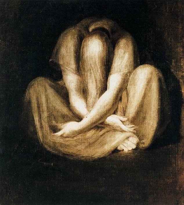 Johann Heinrich Füssli, Silenzio, 1801