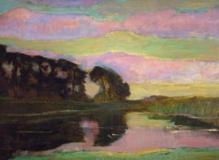 """Gabriele D'Annunzio: """"La sera fiesolana"""". Con un paesaggio di Piet Mondrian"""