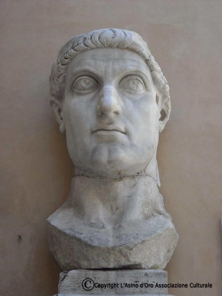 Musei Capitolini_Statua colossale Costantino