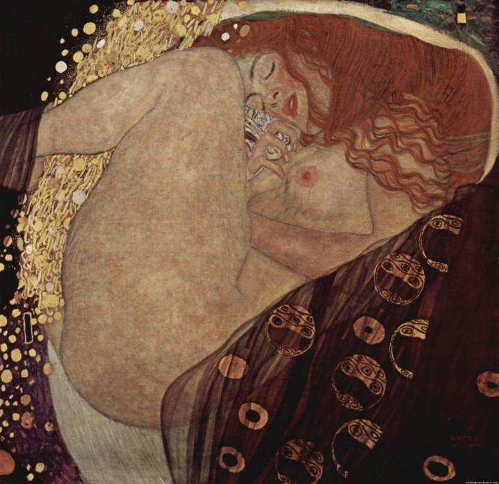 Danae E Bisce Dacqua La Sensualità Femminile In Klimt Restaurars