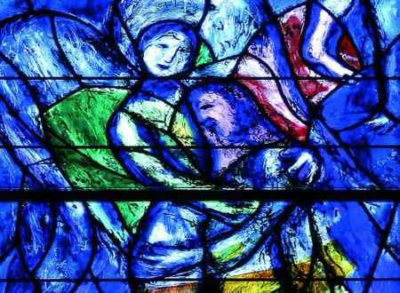 Le vetrate a tema religioso di Marc Chagall