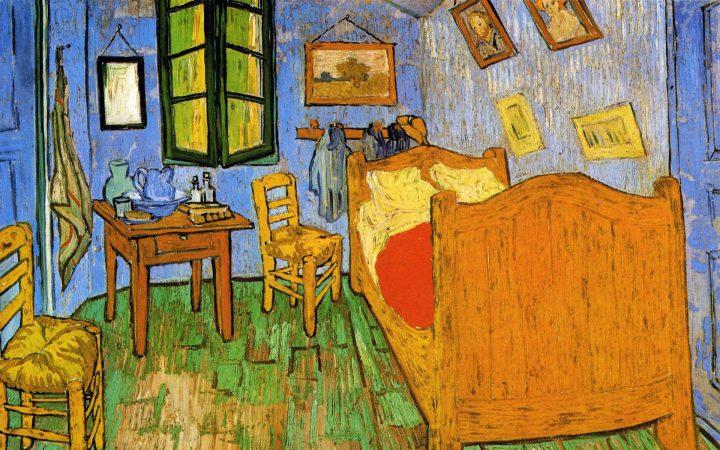 La stanza di Vincent ad Arles, 1888