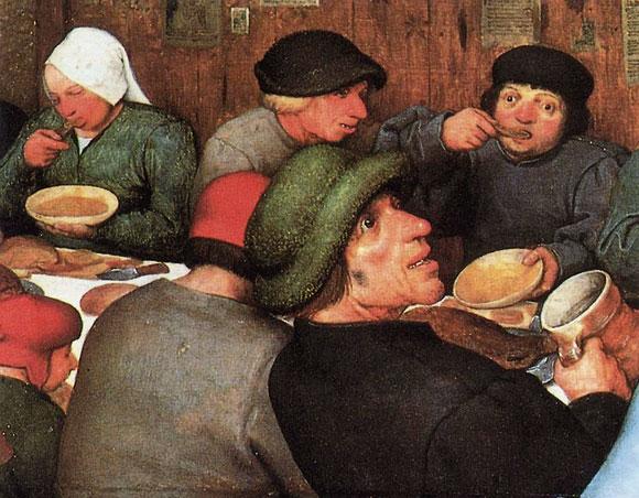 Peter Bruegel il Vecchio, «Festa di matrimonio», 1567