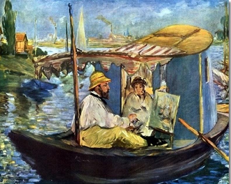 Impressionismo luce colore superficie analisi della - Fotos de cuadros de monet ...
