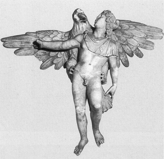 Anonimo, Ratto di Ganimede, 200 d.C