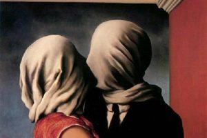 Il paradosso degli amanti senza volto di Magritte