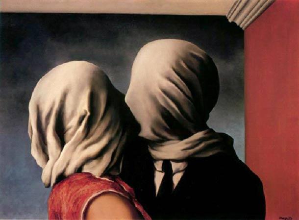 Il paradosso degli amanti senza volto di Magritte | RestaurArs