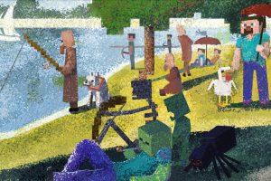 Quando l'arte incontra i videogiochi: Minecraft