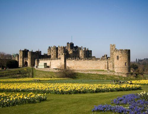 Il castello di Alnwich: la scuola di magia e stregoneria di Hogwarts