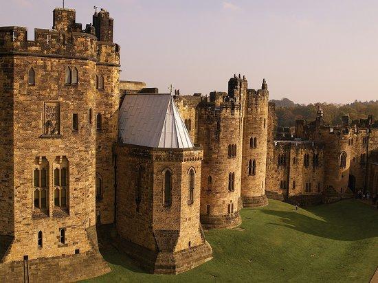 02. Il giardino del castello di Alnwich