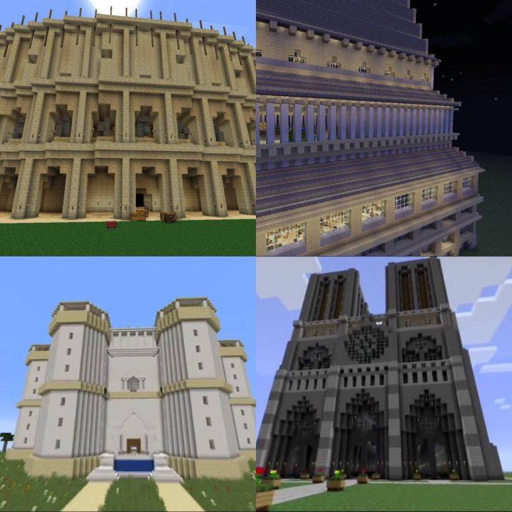 02. Strutture storiche costruite con Minecraft