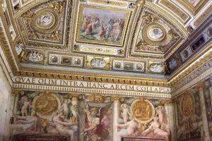 Gli affreschi di Castel Sant'Angelo: meraviglie del Cinquecento romano