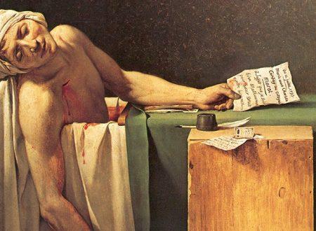 """Dentro l'opera: """"La morte di Marat"""" di Jacques-Louis David"""