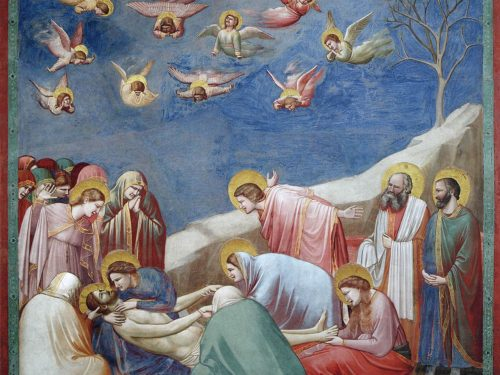 Il compianto su Cristo morto: un dramma in cielo e in terra