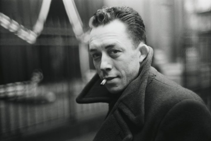 FRANCE. Paris. French writer Albert CAMUS. 1947.