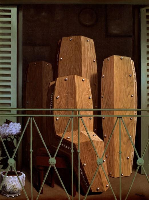 Perspective II: Le balcon de Manet, 1950