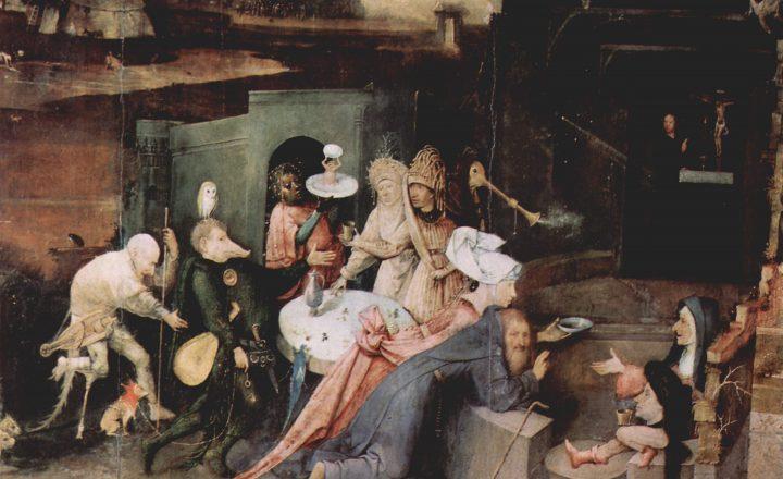 """L'occulta """"Messa Nera"""" di Hieronymus Bosch"""