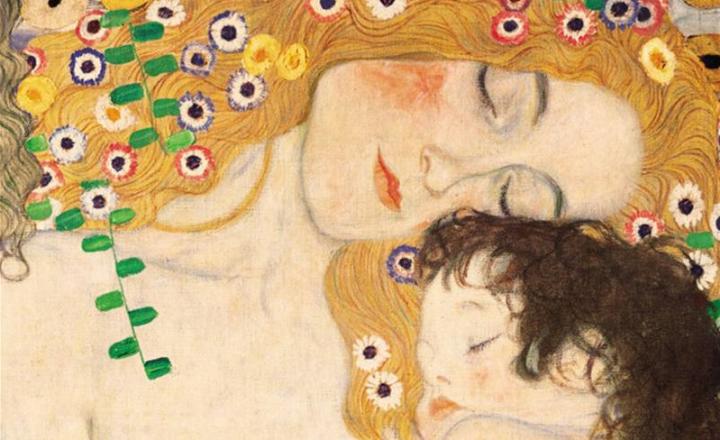 """Rabindranath Tagore: """"Maternità"""". Con un dipinto di Gustav Klimt"""