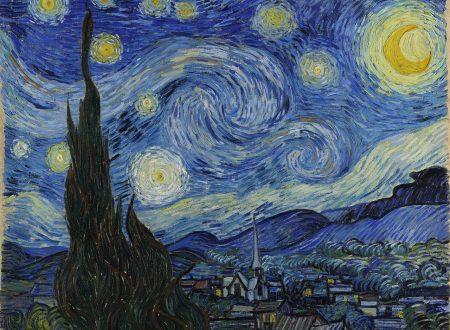 """La """"Notte Stellata"""" di Van Gogh,  un cielo di colori ed inquietudine"""