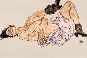 Egon Schiele: l'erotismo inquieto, l'ombra della morte