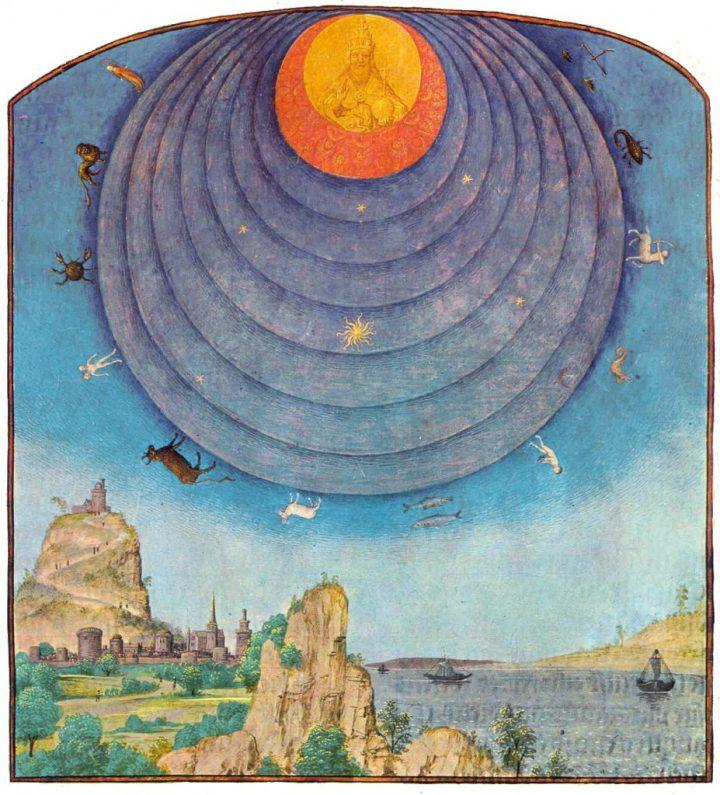 Rappesentazione medioevale del cosmo
