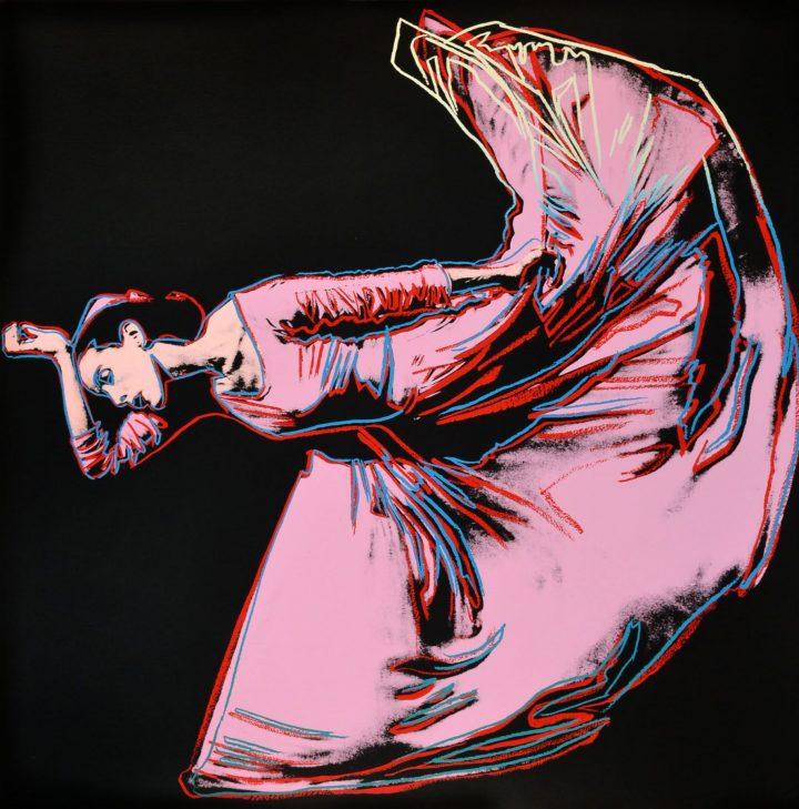 Martha Graham by Andy Warhol
