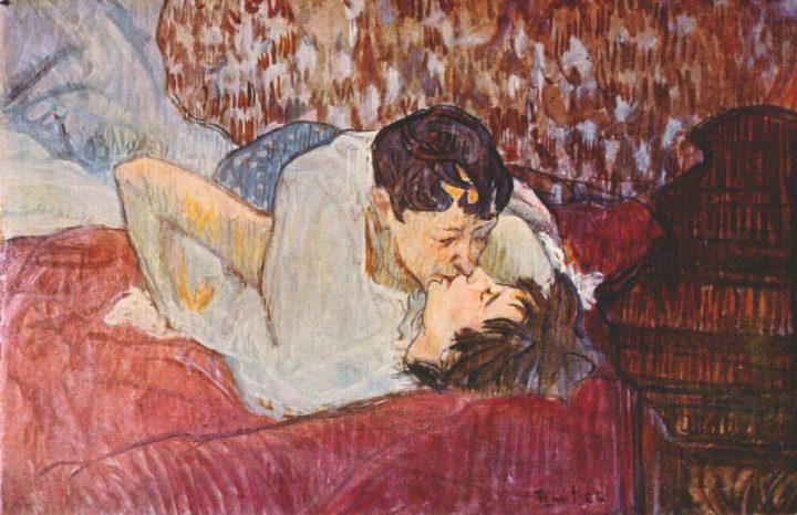 The Kiss, 1892-1893 - Henri de Toulouse-Lautrec