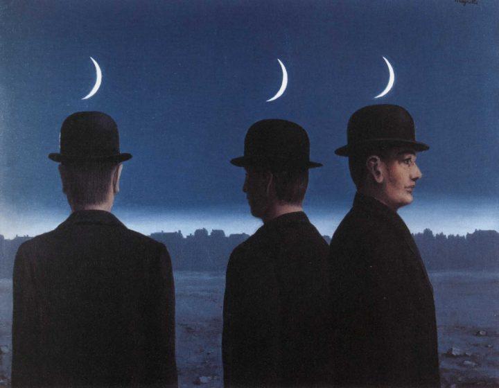 René Magritte, Le Chef-d'Œuvre ou Les Mystères de l'horizon, 1955