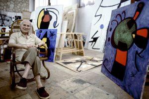 """Joan Miró : """"Lavoro come un giardiniere"""". Una preziosa testimonianza"""