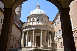 Il Tempietto del Bramante: quando l'architettura si fa sublime