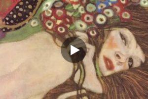 Gustav Klimt: oro, linea, colore. Qui il bellissimo video