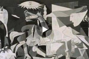 """""""Guernica"""" di Pablo Picasso in 3D! Qui lo spettacolare video"""