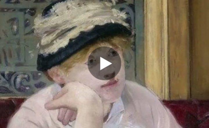 Nei magnifici dipinti di Édouard Manet. Qui il video
