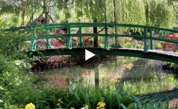 Nella casa incantata di Claude Monet a Giverny. Qui il meraviglioso video
