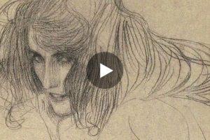 """""""The magic of line"""": il disegno di Gustav Klimt in un interessante video"""